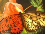 Obras de arte: America : México : Veracruz-Llave : POZA_RICA_ : Mariposa en central park