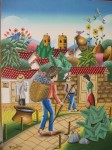 Obras de arte: America : Colombia : Santander_colombia : Giron : Camino a Zapatoca