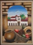 Obras de arte: America : Colombia : Santander_colombia : Giron : Vista a Villa de Leiva