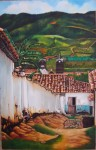 Obras de arte: America : Colombia : Santander_colombia : Bucaramanga : Hacia El Campanario
