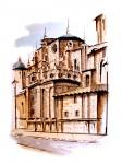 Obras de arte: Europa : España : Murcia : Murcia_ciudad : LATERAL DE LA CATEDRAL DE MURCIA