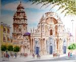 Obras de arte: Europa : España : Murcia : Murcia_ciudad : PLAZA DE BELLUGA-CATEDRAL DE MURCIA