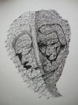Obras de arte: Europa : España : Extremadura_Badajoz : badajoz_ciudad : cabeza triptica(carpeta)