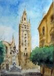 Obras de arte: Europa : España : Extremadura_Badajoz : Oliva_de_la_Frontera : Giralda