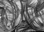 Obras de arte: America : México : Veracruz-Llave : POZA_RICA_ : Abstraccion lineal III