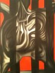 Obras de arte: America : México : Veracruz-Llave : POZA_RICA_ : La esrtella lloro rojo a su oido