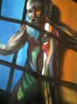 Obras de arte: America : México : Veracruz-Llave : POZA_RICA_ : La frente y elpecho hacia el futuro