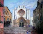 Obras de arte: Europa : España : Catalunya_Tarragona : Valls : catedral de tarragona