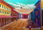 Obras de arte: America : México : Veracruz-Llave : Xalapa : Calle Enrriquez