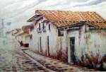 Obras de arte: America : México : Veracruz-Llave : Xalapa : Casa tipica Xalapeña