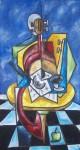 Obras de arte: America : México : Puebla : puebla_ciudad : LA MESA DEL MUSICO