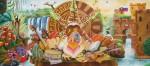 Obras de arte: America : Colombia : Santander_colombia : floridablanca : EL NIÑO DE DOS MUNDOS