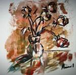 Obras de arte: Europa : España : Catalunya_Tarragona : Banyeres_Penedes : Apuntes rosas