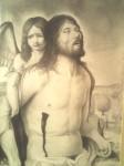 Obras de arte: America : México : Veracruz-Llave : POZA_RICA_ : JESUS MUERTO SOSTENIDO POR ANGEL