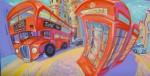 Obras de arte: Europa : España : Andalucía_Málaga : Rincón_de_la_Victoria : Turistas en Londres