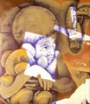 Obras de arte: America : El_Salvador : San_Salvador : San_Salvador_capital : razones para comenzar ( diptico I-2)