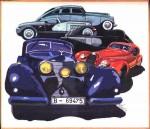 Obras de arte: Europa : España : Catalunya_Girona : olot : Cotxes Antics