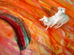 Obras de arte: America : Colombia : Santander_colombia : Bucaramanga : Que bonitas ovejitas