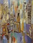 Obras de arte: Europa : España : Madrid : Madrid_ciudad : Estudio en azul