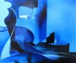 Obras de arte: America : Colombia : Distrito_Capital_de-Bogota : Bogota_ciudad : Azul Profundo