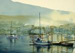 Obras de arte: America : Argentina : Tierra_del_Fuego : Ushuaia : Por la mañana en AFASYN (R-298).jpg