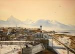 Obras de arte: America : Argentina : Tierra_del_Fuego : Ushuaia : Agosto, 3PM  (R-282).JPG