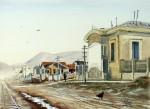 Obras de arte: America : Argentina : Tierra_del_Fuego : Ushuaia : una gallina (R-279).jpg
