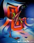 Obras de arte: Europa : Bielorrusia : Minsk : Nekrasova : The Glossy Hallucinogen, Crystallized In Space Of The Spherical Cubelikeness