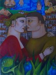 Obras de arte: America : Venezuela : Merida : pedregosa : El beso