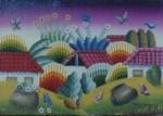 Obras de arte: America : Colombia : Santander_colombia : Giron : miniatura primitivista