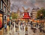Obras de arte: America : Argentina : Buenos_Aires : Ciudad_de_Buenos_Aires : Moulin Rouge, Place Blanche