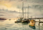 Obras de arte: America : Argentina : Tierra_del_Fuego : Ushuaia : Muelle del náutico  (R-194).jpg