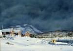 Obras de arte: America : Argentina : Tierra_del_Fuego : Ushuaia : la Mision nevada(R-297).jpg