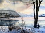 Obras de arte: America : Argentina : Tierra_del_Fuego : Ushuaia : Lago Roca III (R-136).jpg