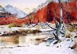 Obras de arte: America : Argentina : Tierra_del_Fuego : Ushuaia : paisaje otoñal I (R-139).jpg