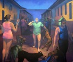 Obras de arte: America : Honduras : Choluteca : Choluteca_ciudad : Tarde de perros