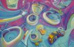 Obras de arte: Europa : España : Andalucía_Málaga : Rincón_de_la_Victoria : curvarto de baño lll