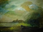Obras de arte: America : Colombia : Risaralda : Pereira_ciudad : Pueblo en medio de la niebla
