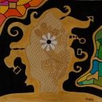 Obras de arte: Europa : España : Catalunya_Barcelona : Sant_Esteve_de_Palautordera : Cap de Buddha III