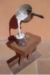 Obras de arte: Europa : España : Andalucía_Málaga : Rincón_de_la_Victoria : En todas las novelas policiacas siempre hay alguien que se toma un café con leche… ¡¿Que nó?!, no me lleves la contraria