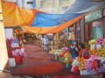 Obras de arte: America : Paraguay : Central-Paraguay : Asunción : Mercado de Flores