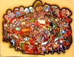 Obras de arte: America : Colombia : Santander_colombia : Bucaramanga : INTEGRACIONISMO TAURINO - -LA MALAGUETA