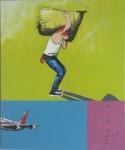 Obras de arte: America : Colombia : Cundinamarca : BOGOTA_D-C- : ESTUDIANTE LATINOAMERICANO ALLA...