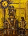 Obras de arte: America : Brasil : Sao_Paulo : Sao_Paulo_ciudad : El temor de la primera experiencia