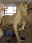 Obras de arte: America : Perú : Arequipa : Arequipa_ciudad : Corazones de paja