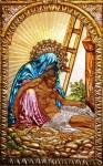 Obras de arte: America : Venezuela : Miranda : Caracas_ciudad : Detalle de la Obra Amargura Divina