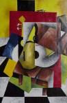 Obras de arte: America : México : Puebla : puebla_ciudad : INSTRUMENTOS SOBRE LA MESA