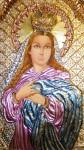 Obras de arte: America : Venezuela : Miranda : Caracas_ciudad : Detalle de la Obra La Inmaculada