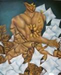 Obras de arte: America : México : Mexico_Distrito-Federal : Coyoacan : DESNUDO MASCULINO I