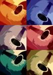 Obras de arte: America : Estados_Unidos : Florida : orlando : Guitars